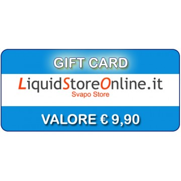 Gift Card € 9,90